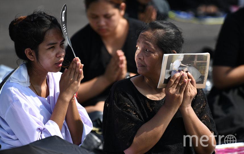 Для тайцев король был большим авторитетом. Фото AFP