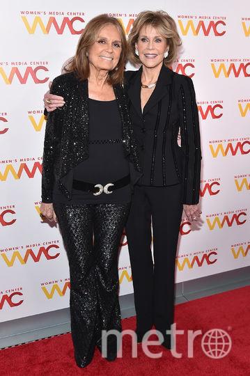 Джейн Фонда и Глория Стайнем. 2017 год. Фото Getty