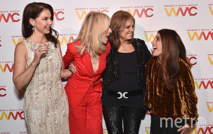 Эшли Джадд, Джудит Лайт, Глория Стайнем и Мариса Томей. Фото Getty