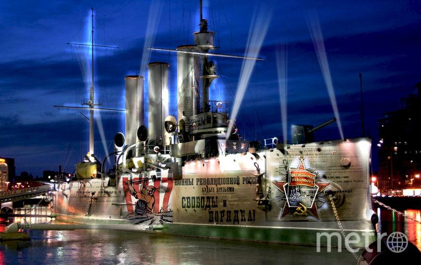 В шоу на Петроградской набережной будут использованы технологии мэппинга, звуковые и видеоэффекты. Фото Предоставлено организаторами