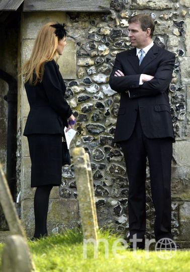 Герцогиня Сара Фергюсон и ее бывший муж принц Эндрю. Фото Getty