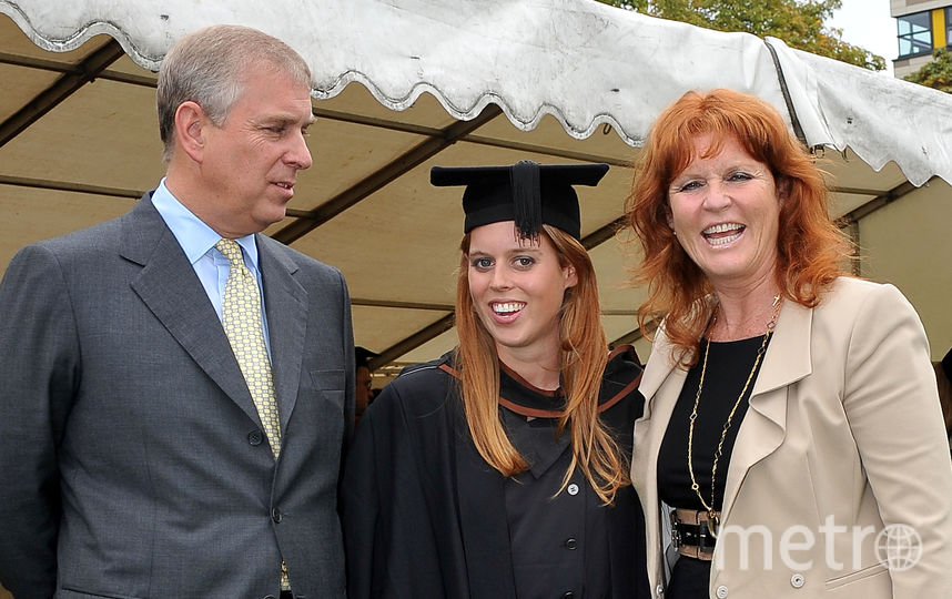 Принц Эндрю, Сара Фергюсон и их дочь. Фото Getty