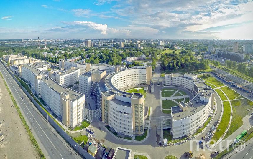 """Крупнейшая в Европе инфекционная больница """"Боткина-Север""""."""
