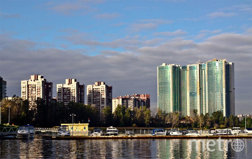 """ЖК """"Князь Александр Невский"""" сегодня остается самым высоким жилым домом в Петербурге."""