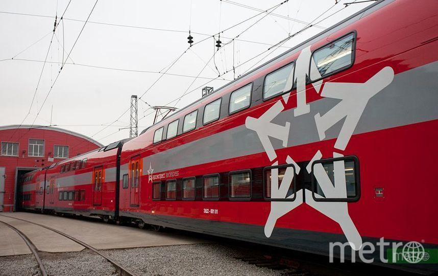 Новый поезд ЭШ-2. Фото Василий Кузьмичёнок