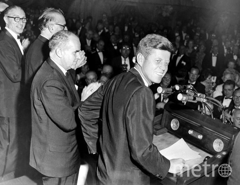 35-ый президент США Джон Кеннеди. Фото AFP