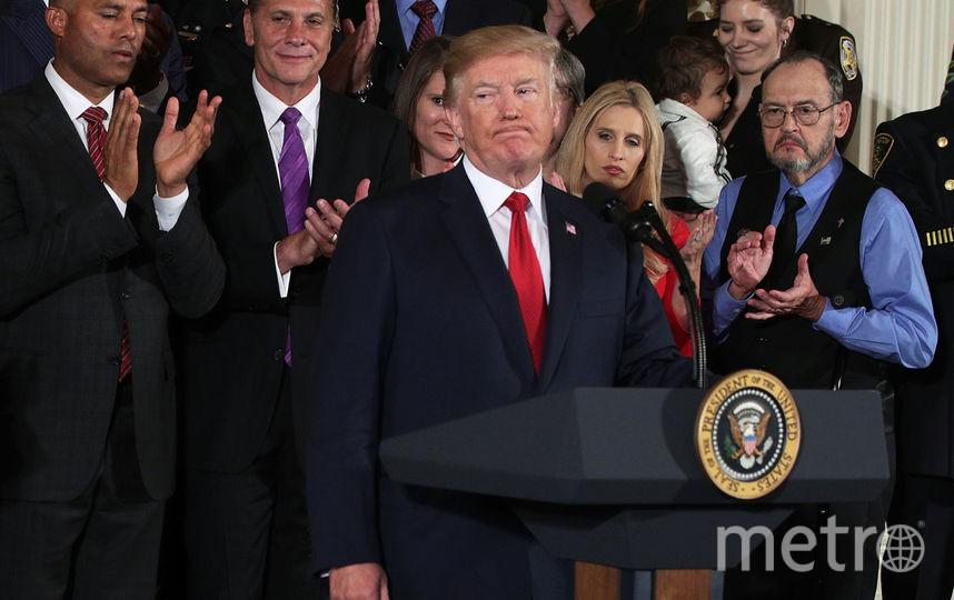 Дональд Трамп выступил с откровенной речью о наркозависимости. Фото Getty