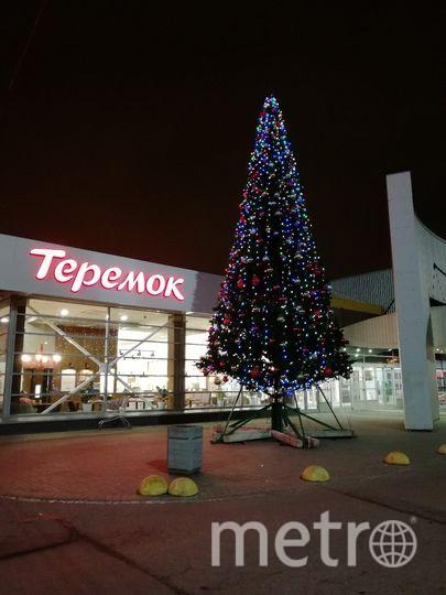 В Петербурге появилась первая новогодняя елка. Фото ДТП и ЧП | Санкт-Петербург | Питер Онлайн | СПб, vk.com