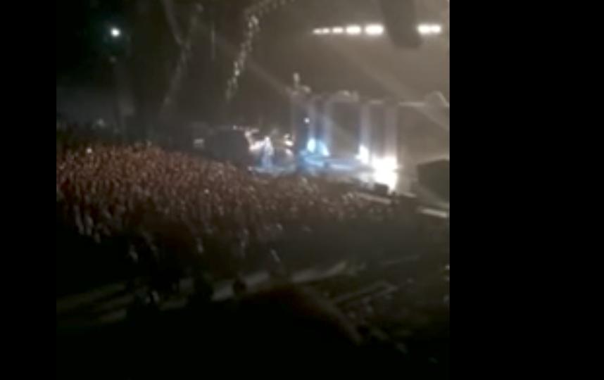 Выступление в Ледовом дворце. Фото MARGUN, Скриншот Youtube