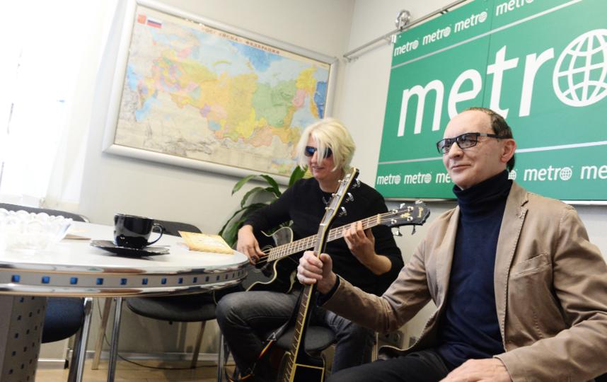 """В редакции Metro «Пикник» исполнили несколько песен. Фото Святослав Акимов., """"Metro"""""""