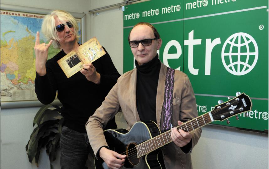 "Группа «Пикник» стала гостем Metro-Санкт-Петербург. Фото Святослав Акимов, ""Metro"""