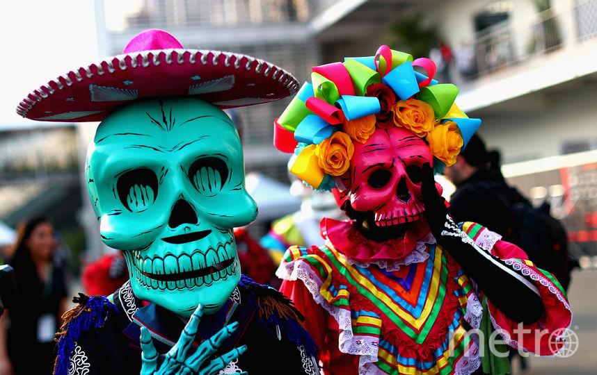 Парад в День мёртвых в Мехико. Фото Getty