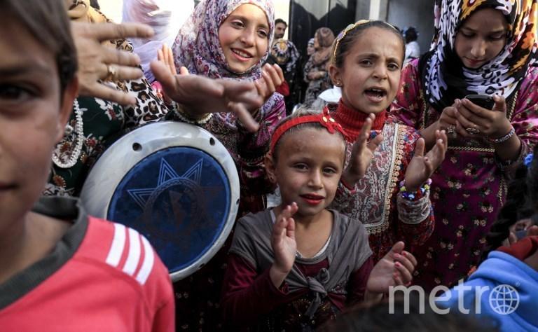 Свадьба Ахмеда и Хебы. Фото AFP