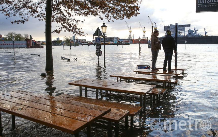 На Центральную Европу обрушился ураган. Фото AFP