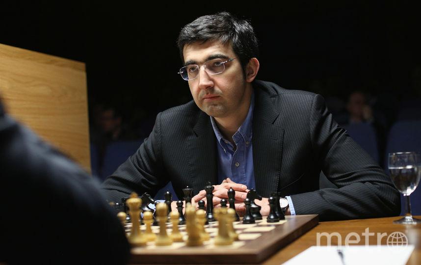 Российский гроссмейстер Владимир Крамник. Фото Getty
