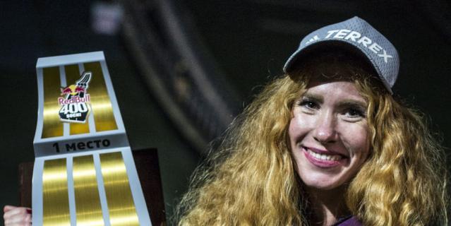 Екатерина Митяева одержала победу в экстремальном забеге среди женщин.