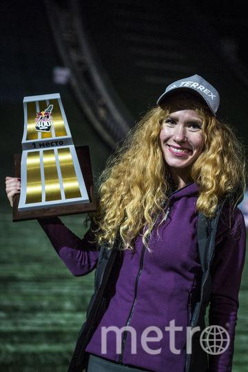 Екатерина Митяева одержала победу в экстремальном забеге среди женщин. Фото redbullcontentpool.com