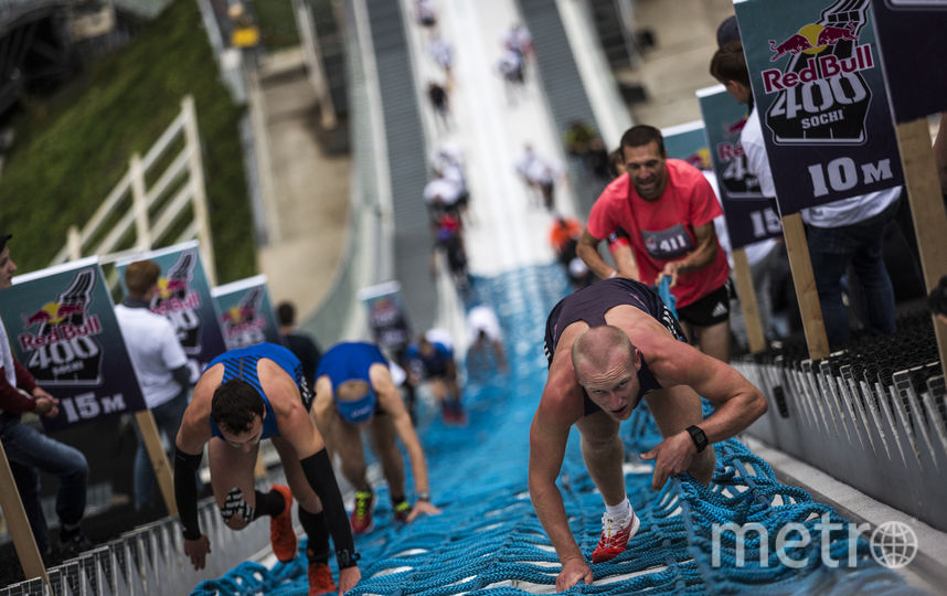 В забеге приняли участие 314 человек – 212 мужчин, 70 женщин. Фото redbullcontentpool.com