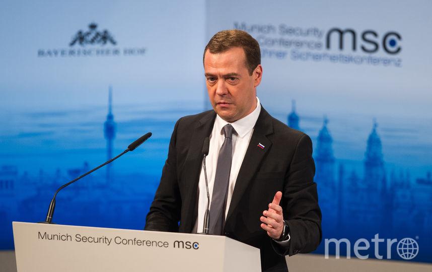 Дмитрий Медведев. Фото архив., Getty