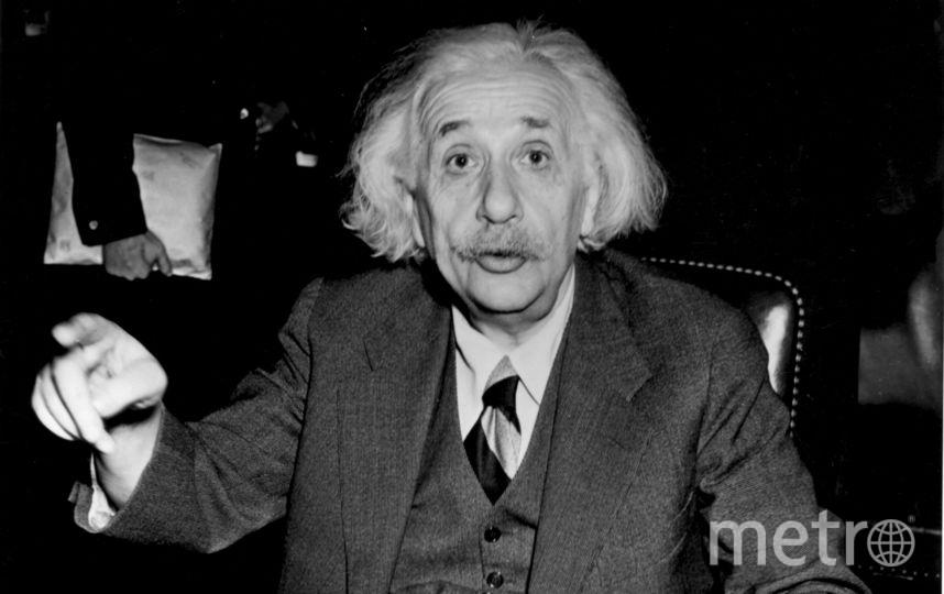 Альберт Эйнштейн. Фото Getty