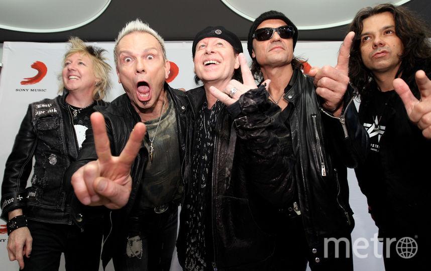 Scorpions. Фото Getty