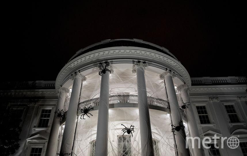 Белый дом готов к Хеллоуину. Фото AFP