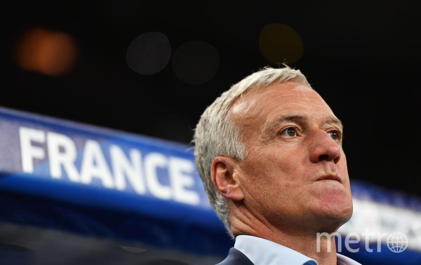 Главный тренер сборной Франции по футболу Дидье Дешам. Фото Getty