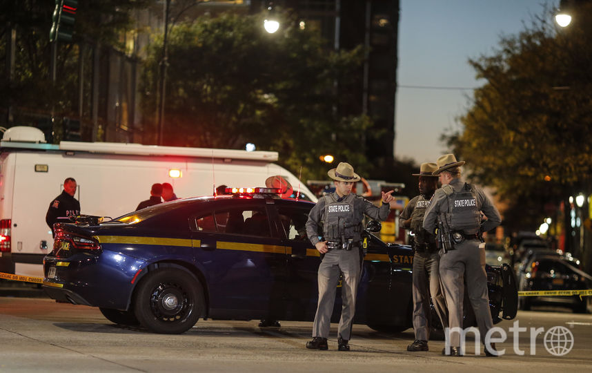 Фото с места теракта в Нью-Йорке. Фото Getty