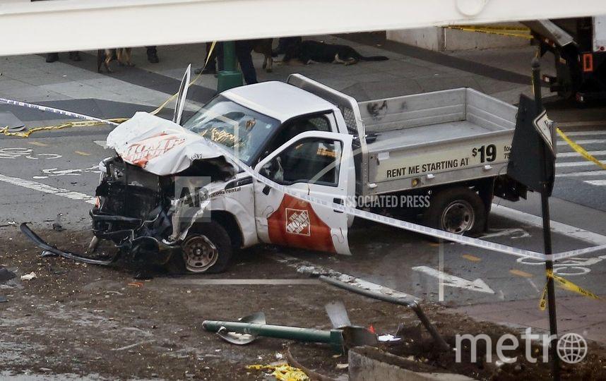 Фото с места теракта в Нью-Йорке. Фото https://twitter.com/