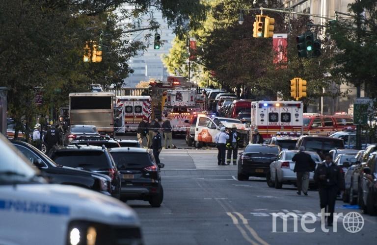 Фото с места теракта на Манхэттене. Фото AFP