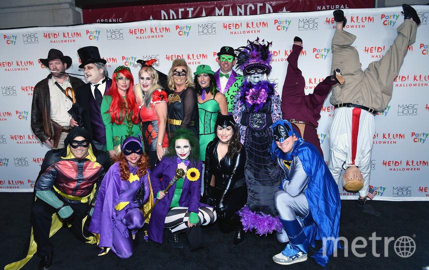 Хэллоуин у Хайди Клум. Фото Getty
