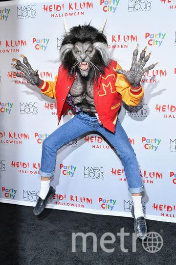 Хэллоуин у Хайди Клум. Это сама хозяйка вечеринки. Фото Getty