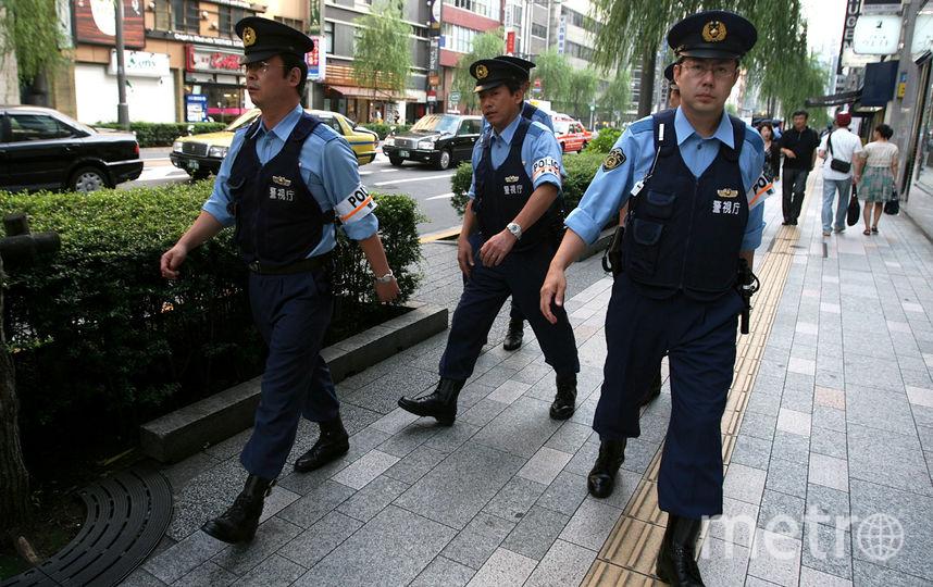 Японские полицейские. Фото Getty