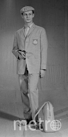 СССР. 1 марта 1965 г. Показ новой коллекции. Фото Фотохроника ТАСС