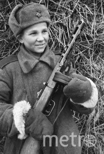 1 августа 1943 г. Сын полка. Фото Фотохроника ТАСС