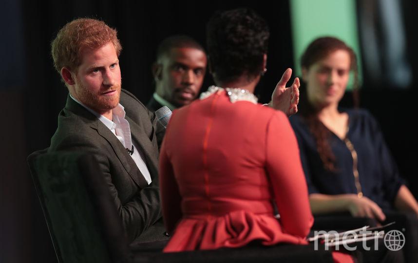 Принц Гарри 31 октября на саммите в Чикаго. Фото Getty