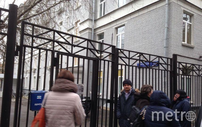 Столичный колледж, где были найдены тела учителя и ученика. Фото Василий Кузьмичёнок