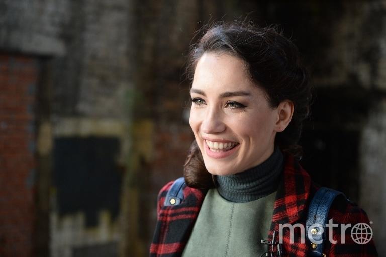 Виктория Дайнеко на съемках сериала. Фото Святослав Акимов.