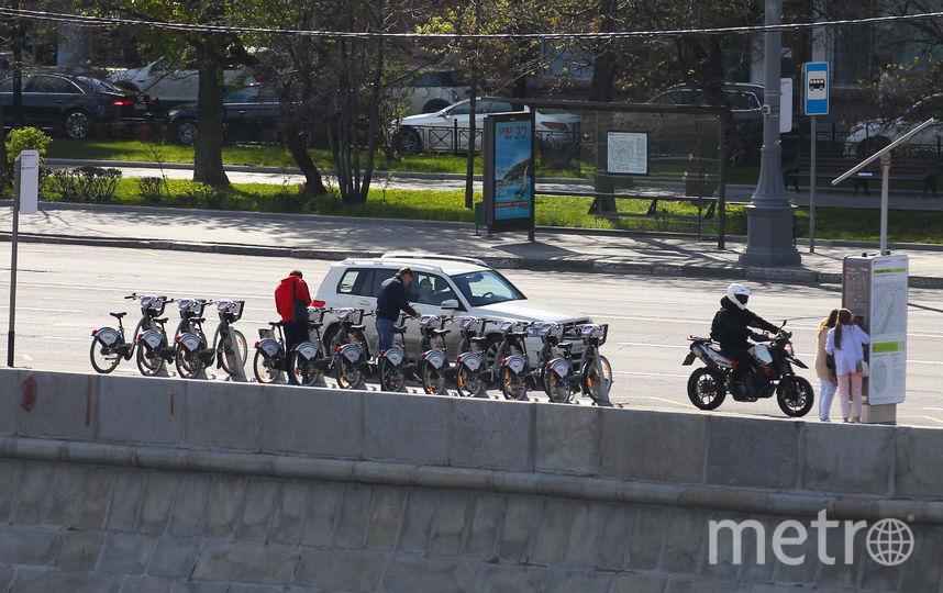 Сезон велопроката в Москве завершился. Фото Василий Кузьмичёнок