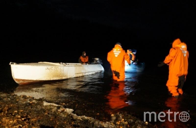 Спасательные работы на Аргазинском водохранилище. Фото 74.mchs.gov.ru