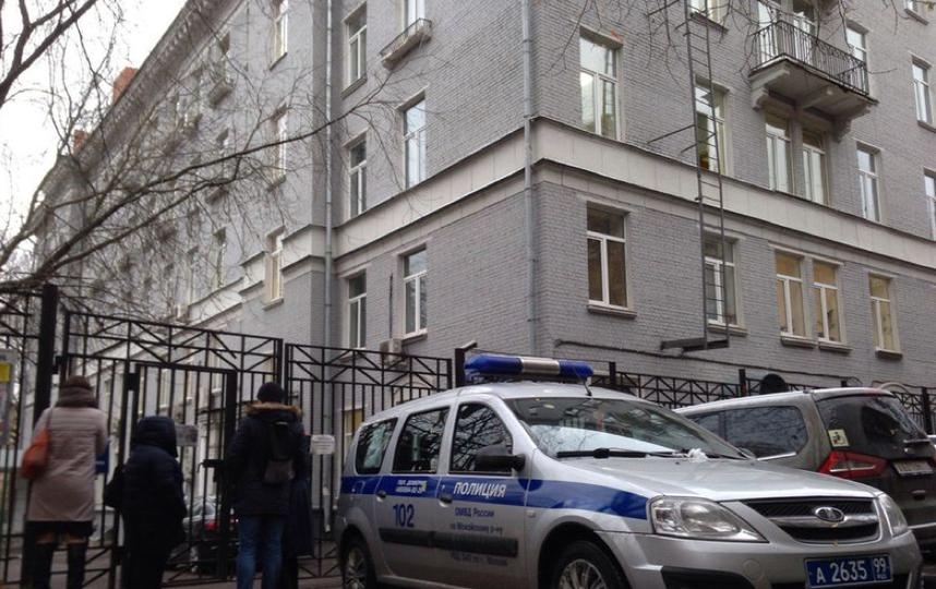 Колледж, в котором произошло убийство. Фото Василий Кузьмичёнок