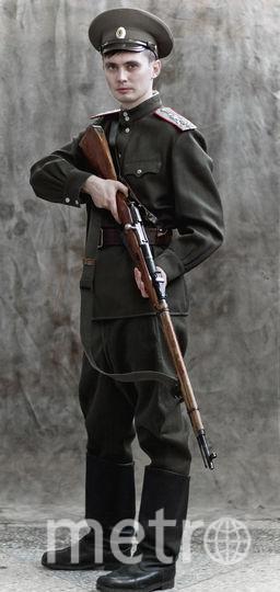 Заведующий филиалом Волжского музейно-выставочного комплекса Артём Михеев в образе юнкера. Фото предоставлены Александром Барановым.