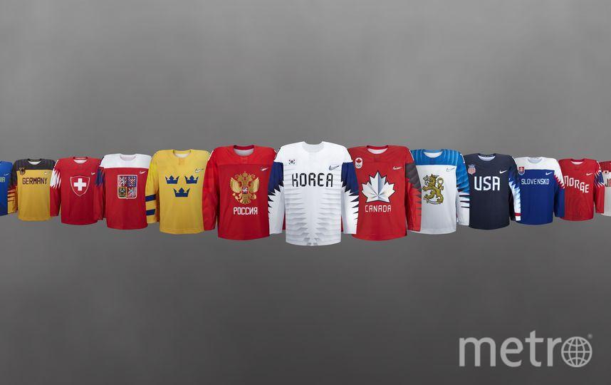 Форма национальной сборной на ОИ-2018. Фото Федерация хоккея России