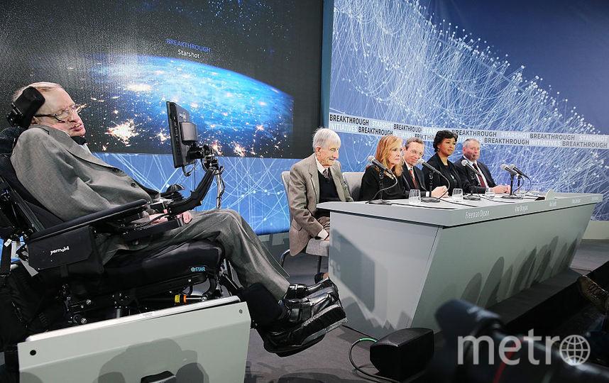 Британский учёный Стивен Хокинг. Фото Getty