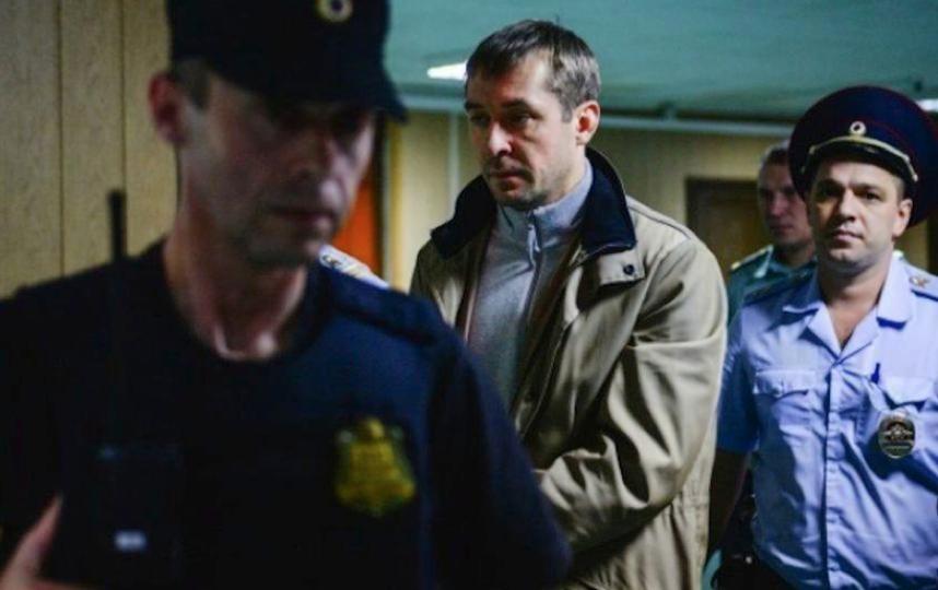 Бывший полицейский Дмитрий Захарченко. Фото РИА Новости
