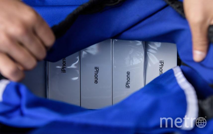 iPhone X пользуется спросом во всём мире. Фото AFP