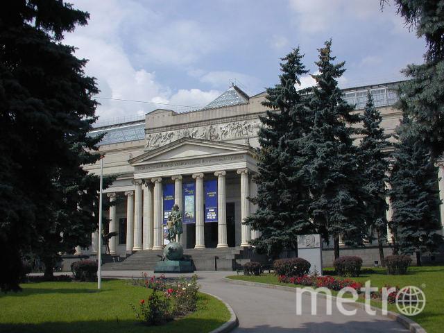 Главное здание ГМИИ им. А.С. Пушкина. Фото Wikipedia/Енот и Ко