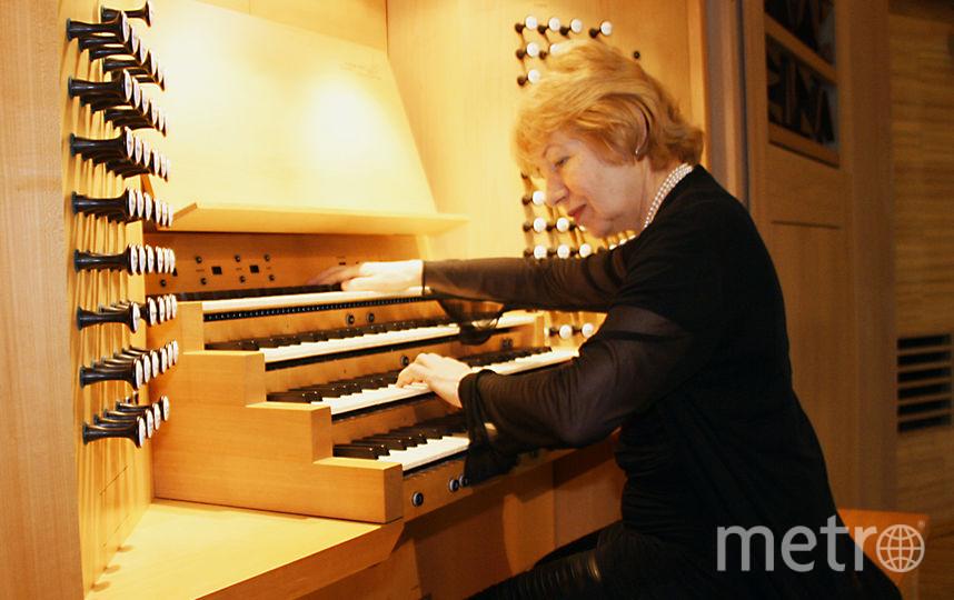 Органистка Людмила Голуб. Фото предоставлено пресс-службой Дома музыки