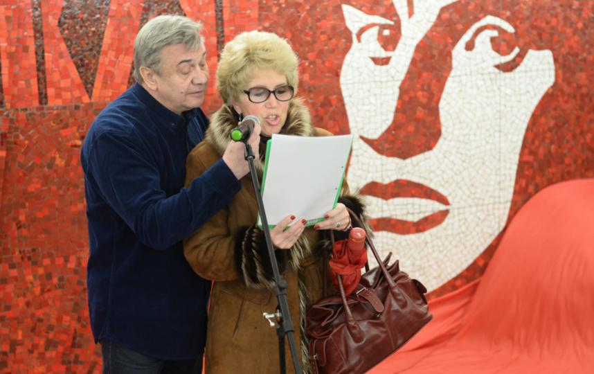 "Чтение стихов на ""Маяковской"". Фото Святослав Акимов, ""Metro"""