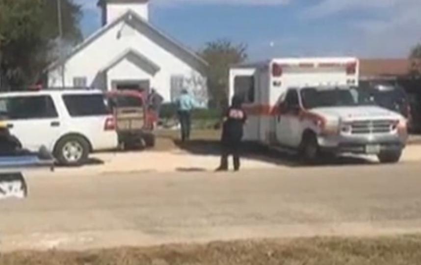 Стрельба в церкви Техаса: полиция раскрыла подробности. Фото Скриншот видео KSAT 12 & KSAT.com / facebook